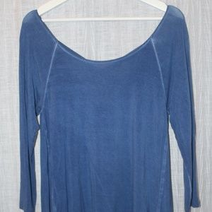 American Eagle Soft&Sexy Blue Top